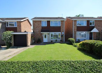 Thumbnail 3 bed detached house for sale in Reynes Drive, Oakley, Bedford, Bedfordshire