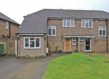 Thumbnail 4 bed semi-detached house for sale in Norman Crescent, Pinner