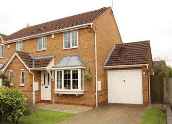 Thumbnail 3 bed semi-detached house for sale in Noble Close, Lutterworth