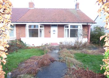 Thumbnail 2 bed bungalow for sale in Cambridge Avenue, Forest Hall, Newcastle Upon Tyne