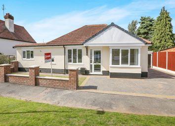 Thumbnail 3 bedroom detached bungalow for sale in Gibbons Grove, Newbridge, Wolverhampton