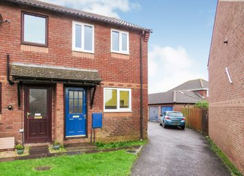 Thumbnail 2 bed end terrace house for sale in Aldabrand Close, Chickerell, Weymouth
