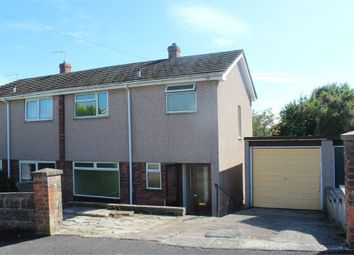 Thumbnail 3 bed semi-detached house for sale in Fairfield Close, Milton, Weston-Super-Mare, Somerset