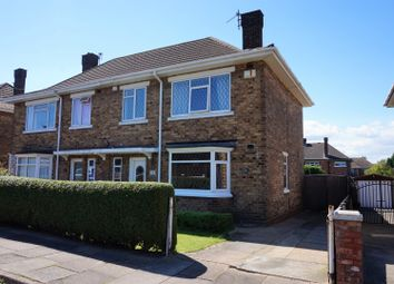 Thumbnail 3 bed semi-detached house for sale in Montgomery Road, Cleethorpes