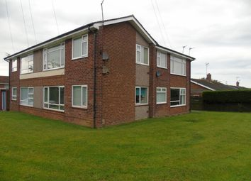 Thumbnail 1 bed flat to rent in Lesbury Avenue, Choppington