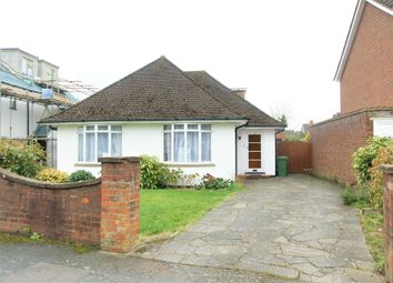 Thumbnail 4 bed detached bungalow for sale in Clarence Road, Hersham, Walton-On-Thames, Surrey