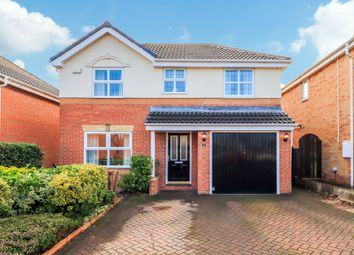 Thumbnail 4 bed detached house for sale in Castle Meadows, Hall Green, Wakefield