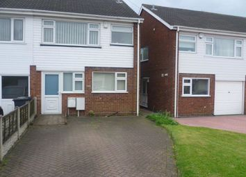 Thumbnail 3 bed semi-detached house for sale in Waddens Brook Lane, Wolverhampton