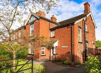 Thumbnail 4 bed detached house for sale in Heath Road, Sandbach, Cheshire