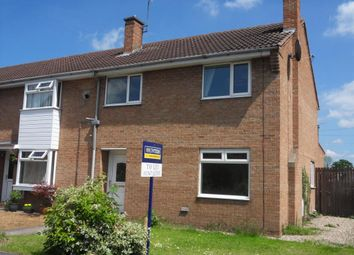 Thumbnail 3 bed end terrace house to rent in Crabmill Close, Easingwold, York