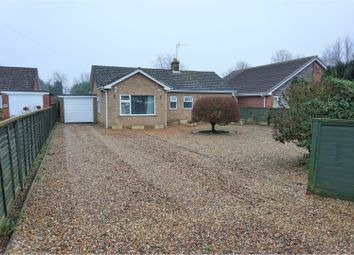 Thumbnail 4 bed detached bungalow for sale in School Road, Tilney All Saints, King's Lynn
