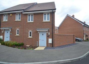 Thumbnail 2 bed semi-detached house for sale in Montserrat Court, Newton Leys, Bletchley, Milton Keynes