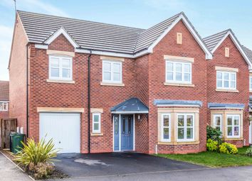Thumbnail 4 bed detached house for sale in Sunnylands Drive, Sileby, Loughborough