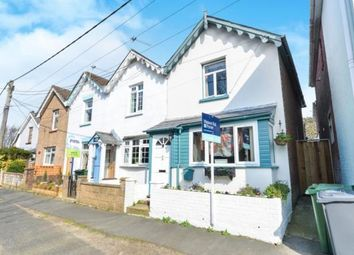 Thumbnail 2 bedroom end terrace house for sale in Queens Road, Freshwater, Isle Of Wight