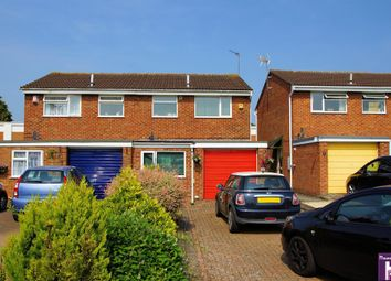 Thumbnail 3 bed semi-detached house for sale in Lincoln Close, Tewkesbury, Gloucestershire