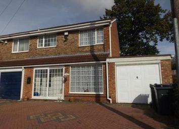 Thumbnail 3 bedroom end terrace house for sale in Nutbush Drive, Birmingham, West Midlands