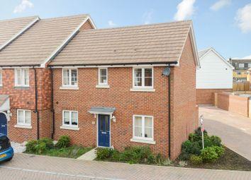 Thumbnail 3 bed terraced house for sale in Choir Close, Wainscott