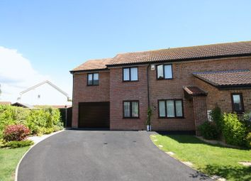Thumbnail 4 bed semi-detached house for sale in Clover Close, Highcliffe, Christchurch