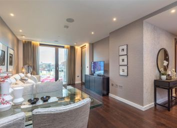Thumbnail 2 bedroom flat to rent in Glacier House, The Residence, 14 Charles Clowes Walk, Battersea, London