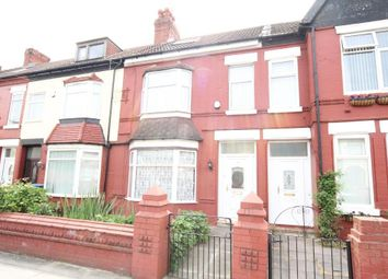 Thumbnail 5 bedroom terraced house to rent in Ellerslie Road, Tuebrook, Liverpool