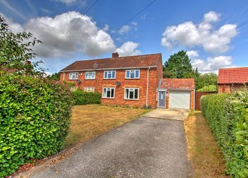 Thumbnail 2 bed semi-detached house for sale in Stapehill Crescent, Wimborne, Dorset