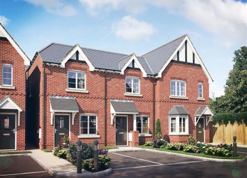 Thumbnail 2 bed town house to rent in St. Pauls Mews, Burton-On-Trent