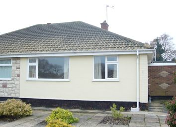 Thumbnail 2 bed bungalow to rent in June Avenue, Lowestoft