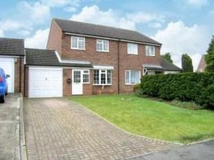 Thumbnail 3 bed detached house to rent in St. Edmunds Close, Hellesdon, Norwich