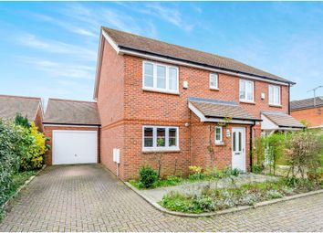 Thumbnail 3 bed semi-detached house for sale in Hunts Close, Colden Common, Winchester