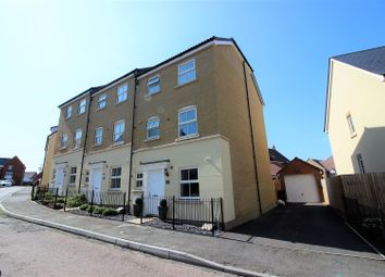 Thumbnail 4 bed end terrace house for sale in Truscott Avenue, Redhouse, Swindon