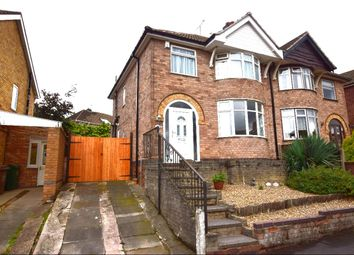 Thumbnail 3 bedroom semi-detached house for sale in Queensgate Drive, Birstall, Leicester