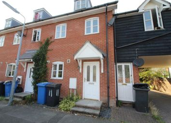 Thumbnail 3 bed town house to rent in Brickfield Close, Ipswich