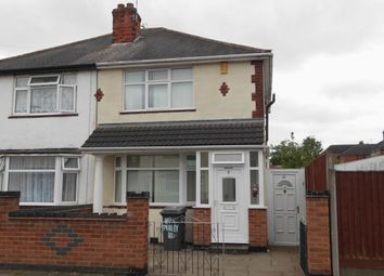 Thumbnail 3 bed semi-detached house for sale in Purley Road, Leicester