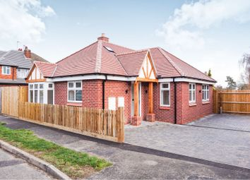 Thumbnail 2 bed detached bungalow for sale in Cliffwood Avenue, Birstall, Leicester