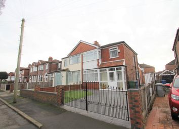 Thumbnail 3 bedroom semi-detached house for sale in Bradwell Avenue, Stretford, Manchester