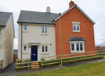 Thumbnail 2 bed semi-detached house to rent in Quicksilver Way, Andover