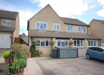 Thumbnail 3 bed semi-detached house for sale in Bluebell Chase, Chalford, Stroud