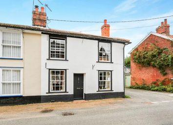 Thumbnail 3 bed end terrace house for sale in Kenninghall, Norwich, Norfolk