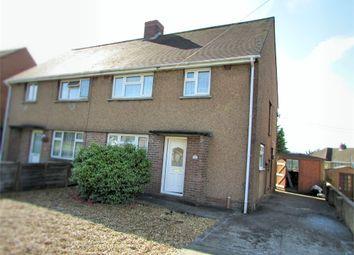 Thumbnail 3 bed semi-detached house for sale in Heol Y Felin, Caewern, Neath, West Glamorgan