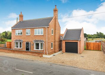 Thumbnail 4 bed detached house for sale in Yarmouth Road, Broome, Bungay