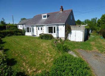 Thumbnail 4 bed bungalow for sale in Llangoed, Anglesey, Sir Ynys Mon