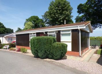 Thumbnail 2 bed bungalow for sale in Crabtree Green Park, Hogshead Lane, Oakmere, Northwich