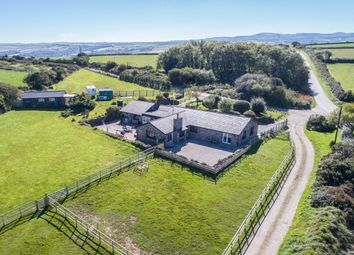 Thumbnail 5 bed detached bungalow for sale in St Breock, Nr Wadebridge