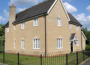 Thumbnail 4 bed detached house for sale in Carrier Close, Sugar Way, Peterborough