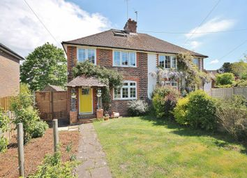 Thumbnail 3 bed semi-detached house for sale in Fern Road, Storrington, Pulborough