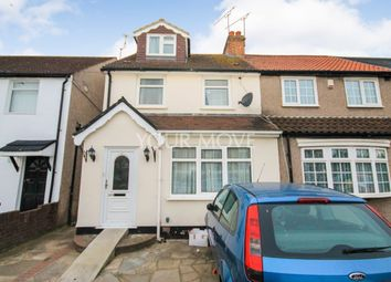 Thumbnail 4 bed semi-detached house for sale in Straight Road, Romford