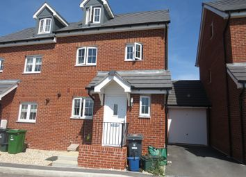 Thumbnail 3 bed semi-detached house for sale in Charter Road, Axminster