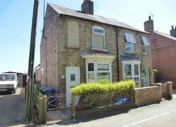 The Bank, Parson Drove, Wisbech PE13. 2 bed semi-detached house for sale