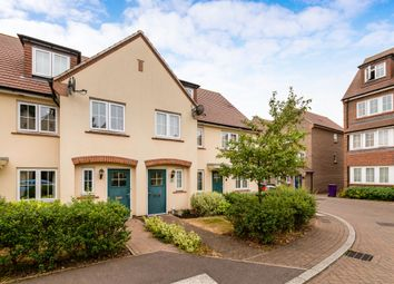 Thumbnail 3 bed town house for sale in Lindsell Avenue, Letchworth Garden City