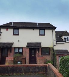 Thumbnail 1 bed terraced house to rent in Clover Rise, Woolwell, Plymouth